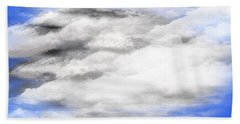 Clouds 2 Bath Towel