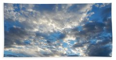 Clouds #4049 Bath Towel by Barbara Tristan