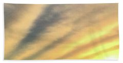 Hand Towel featuring the photograph Clouds And Sun by Sumoflam Photography