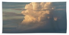 Clouds And Surf Bath Towel
