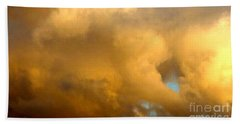 Bath Towel featuring the photograph Clouds Illusions by Leanne Seymour