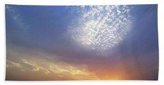 Clouds In The Sky Bath Towel
