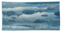 Clouds Over South Bay Bath Towel