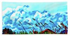 Clouds Over Vilano Beach Bath Towel