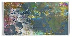 Clouds Over Water Bath Towel by Deborah Nakano