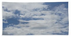 Clouds Photo II Bath Towel