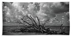 Clouds Trees Water Hand Towel