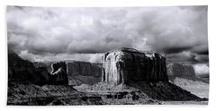 Cloudy Skies Monument Valley Hand Towel