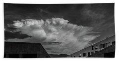Cloudy Sky Over Bolzano Bath Towel