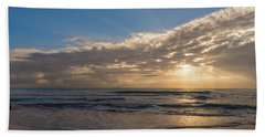 Cloudy Sunrise In The Mediterranean Bath Towel