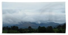 Cloudy View Bath Towel