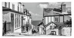 Clovelly Cobbles Hand Towel
