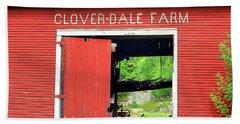 Clover Dale Farm Bath Towel