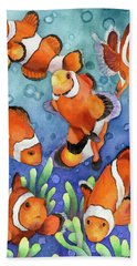 Clown Fish Bath Towel