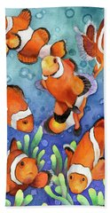 Clown Fish Hand Towel