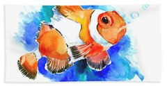 Clownfish Hand Towel