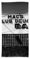 Club Deuce Bath Towel