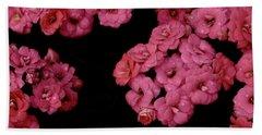 Clusters Of Pink Bath Towel by Tim Good