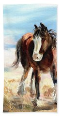 Clydesdale Foal Hand Towel