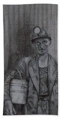 Coal Miner Hand Towel