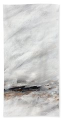 Coast #14 Ocean Landscape Original Fine Art Acrylic On Canvas Bath Towel
