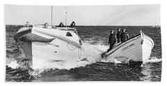 Coast Guard Surf Rescue Boats Bath Towel