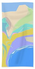 Coast Of Azure Bath Towel