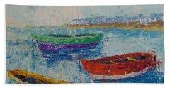 Coast Of Normandy Bath Towel