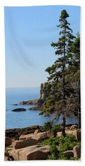 Coastal Beauty Hand Towel by Living Color Photography Lorraine Lynch