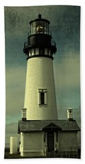 Coastal Breeze At Yaquina Head Bath Towel