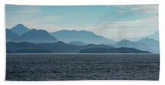 Coastal Mountains Hand Towel