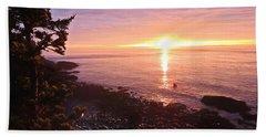 Coastal Sunrise Hand Towel