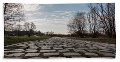 Cobble-stones Bath Towel by Sergey Simanovsky