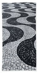 Cobblestone Waves Hand Towel