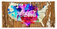 Coca Cola America Hand Towel