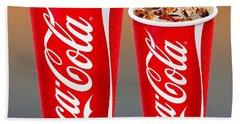 Coca Cola Customized  Hand Towel