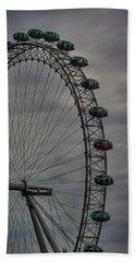 Coca Cola London Eye Hand Towel by Martin Newman