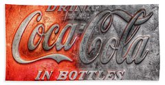 Coca Cola Hand Towel