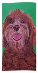 Coco Date With Paint Nov 20th Hand Towel