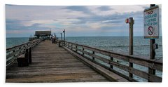 Cocoa Beach  Hand Towel by Pat Cook