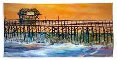 Cocoa Beach Pier Bath Towel