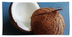 Bath Towel featuring the photograph Coconut by Jasna Gopic