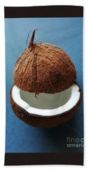 Coconut King Hand Towel by Jasna Gopic