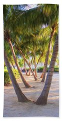 Coconut Palms Inn Beachfront Hand Towel