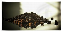 Coffee Beans Bath Towel