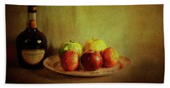 Cognac And Fruits Hand Towel