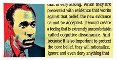 Cognitive Dissonance Frantz Fanon Bath Towel