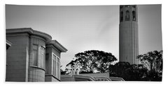 Coit Tower Hand Towel