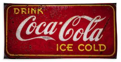 Coke #1 Bath Towel by Jerry Golab