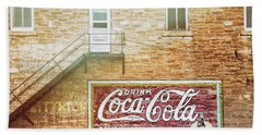 Bath Towel featuring the photograph Coke Classic by Darren White